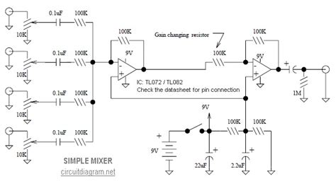 Pcb Getar Dan Ces Andromax R mini mixer schematic circuit diagram images