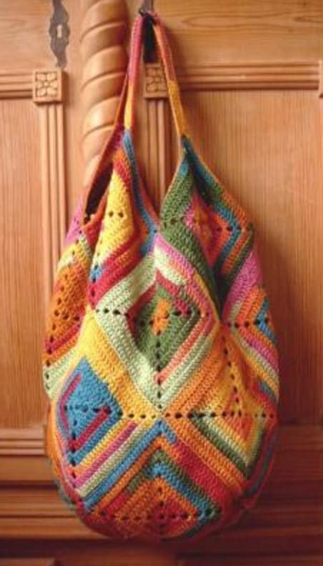 crochet thread bag pattern crochet tote bag best free patterns the whoot