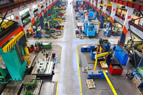 Manufacturing Floor Plan by 5s Certification