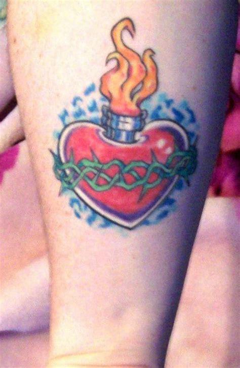 sacred heart tattoos designs lovely sacred