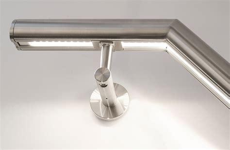 led handrail lighting system illuminated handrail organic lighting systems