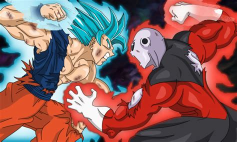 imagenes de goku hit y jiren goku vs jiren la revancha m 225 s esperada de dragon ball super