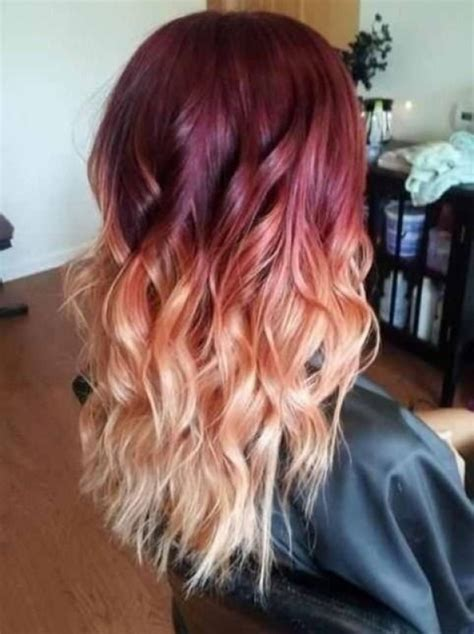 blonde and burgundy high and low lights for short ladies hairstyles burgundy and blonde hair color ideas burgundy and blonde