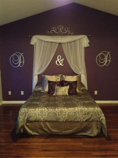 headboard curtains curtain headboard and wooden letters for quick upgrade