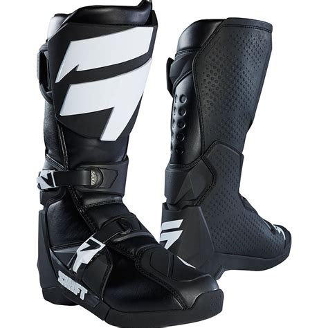 shift motocross boots shift 2018 whit3 label black boots at mxstore