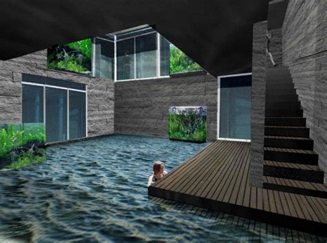 underground house plan dream homes pinterest underground house with pool i m not a big quot dream mansion