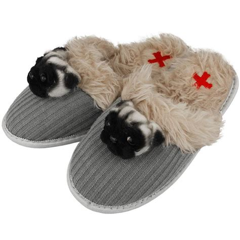 pug slippers 73 best images about gifts for the pug lover on pug rescue stainless
