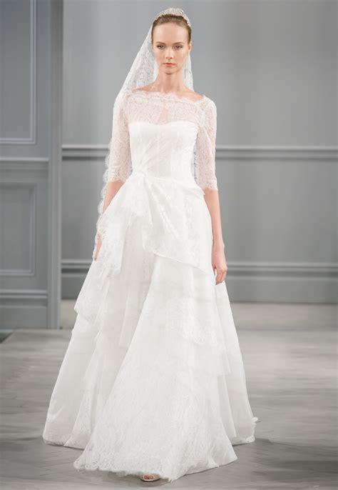 monique lhuillier bridal 2014 spring 2014 wedding dress monique lhuillier bridal monaco