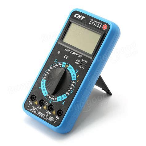 Digital Multimeter Chy Dt 9810 1999 graf digital multimeter 1000v dc voltmeter mit ac dc