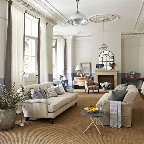 living rooms co uk neutral sitting room with eclectic accessories country living room design ideas decorating