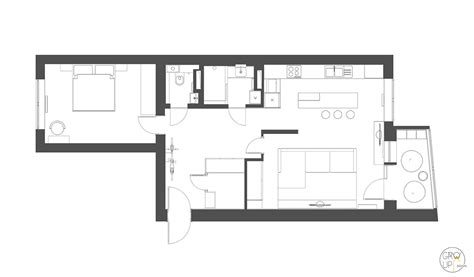 bachelor apartment floor plan home designing relaxing color schemes in 3 efficient