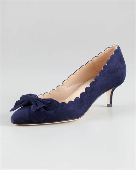 navy kitten heels fs heel