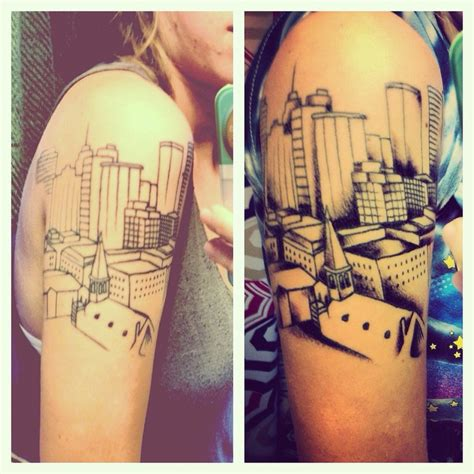 tattoos okc stunning city tattoos spot your city tattoos beautiful