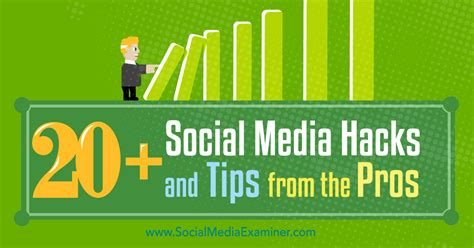 Tips From The Pros by 20 Social Media Hacks And Tips From The Pros