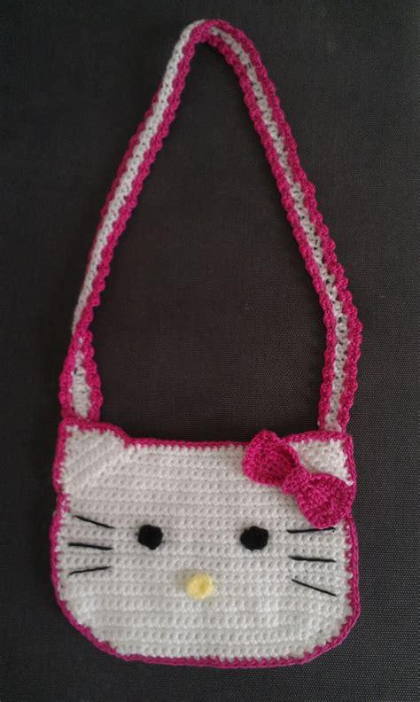 crochet pattern hello kitty bag crochet inspired hello kitty crochet bag free pattern