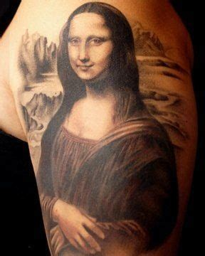 mona lisa tattoo tattoos mona mona