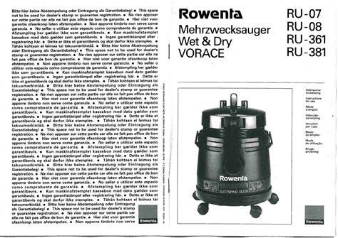 notice four micro onde rowenta or 8035 et pi 232 ces d 233 tach 233 es plat fusible protection oule