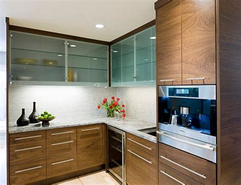 Frosted Glass Kitchen Cabinet Doors by 28 Kitchen Cabinet Ideas With Glass Doors For A Sparkling