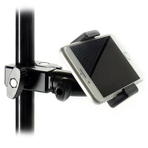 ishot gp5500c iphone universal smartphone c cl mic stand mount tripod mount adapter