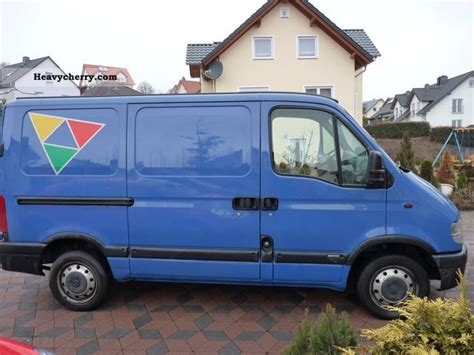 opel movano 2001 opel movano 2001 box type delivery van photo and specs