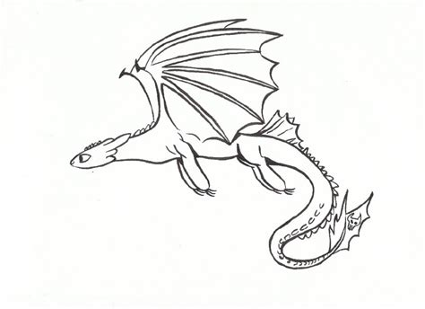 Free Coloring Pages Of Toothless And Hiccup Toothless Coloring Page