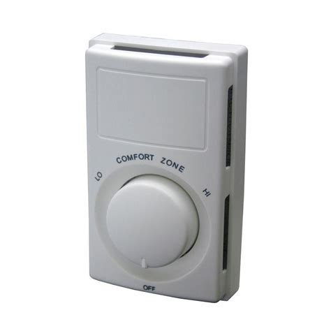 Comfort Zone 2 Thermostat Manual by Honeywell Mechanical Thermostat Heat Only Ct87k