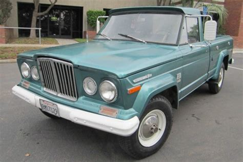 1971 Jeep Wagoneer For Sale Drive Or Restore 1971 Jeep Gladiator J10