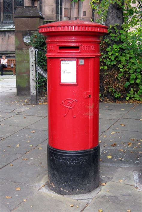How To Make A Post Box Out Of Paper - post box chester 169 gordon cragg geograph