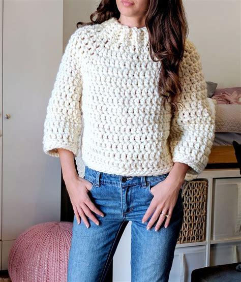 sweater pattern chunky yarn 44 best super bulky yarn images on pinterest crocheting