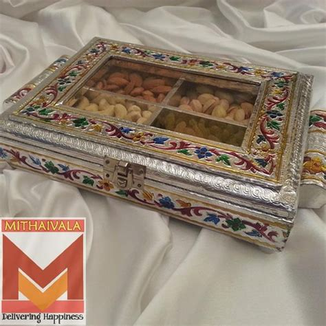 decorative boxes for dry fruits 9 best dry fruit box golden small images on pinterest