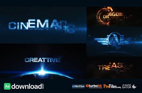 cinematic transform videohive free download free