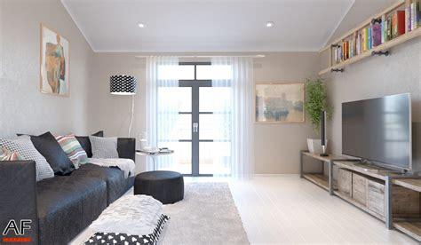 rendering  interni appartamento studio grafico af