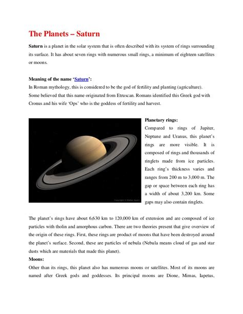 information on saturn for information about saturn the planet pics about space