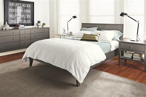 room and board bedding calvin bed by r b