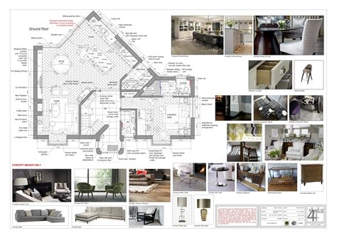 layout project plan interior design project co ordination services by studio44