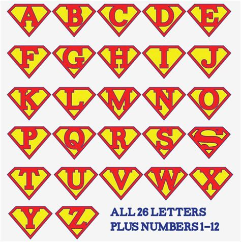 printable superhero font printable superman birthday banner for a super hero