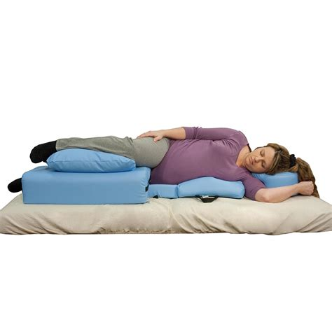 Side Lying Pillow oakworks side lying positioning system pillows bolsters