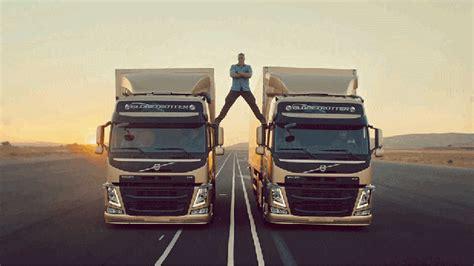 volvo trucks  epic split feat van damme