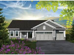 Affordable Ranch House Plans by Home Plan Homepw76532 1501 Square Foot 3 Bedroom 2