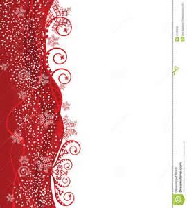 red christmas border design stock vector image 11229236