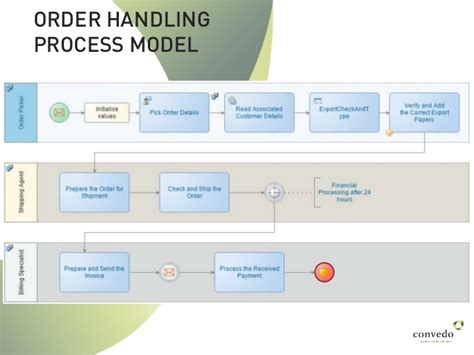 explain execution process of net application opentext process suite from model to execution