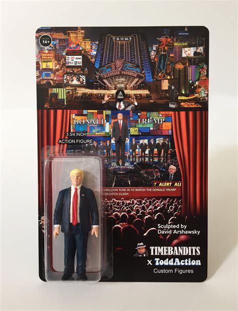 3 inch figures quot the donald show quot 3 3 4 inch figure timebandits