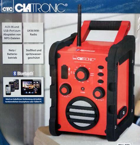 Werkstatt Radio by Top Br 835 Bluetooth Outdoor Baustellen Radio Werkstatt