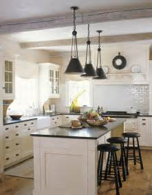 Farmhouse Kitchen Lights Whitehaven Kitchens With Beams