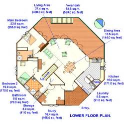 2 Master Bedroom House Plans 2 Story Octagon House Plans Octagonal Yurt Building