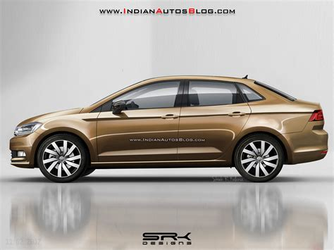 volkswagen sedan 2018 2018 vw vento 2018 vw polo sedan rendering
