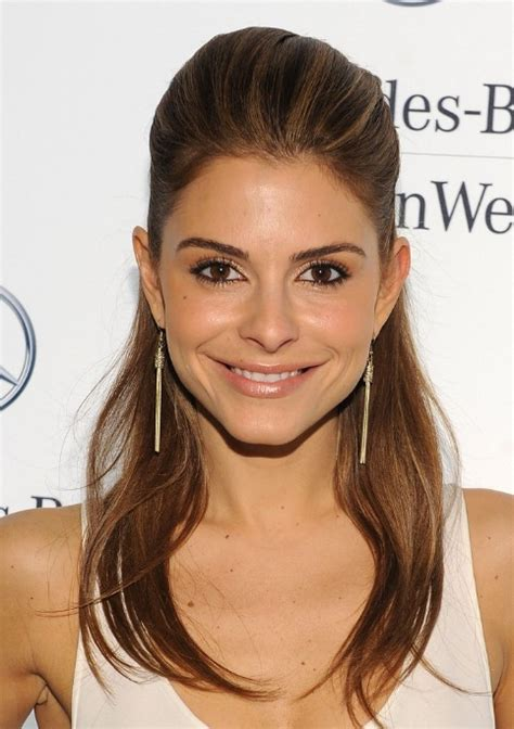 hairstyles for long straight hair up maria menounos half up half down hairstyle for long