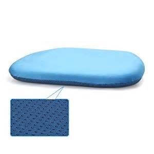 Dining Chair Cushions Non Slip Mochohome Non Slip Memory Foam Dining Chair Cushion Pad With Ties Blue Home Kitchen