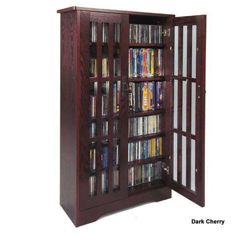 Leslie Dame Cd Storage Cabinet With Glass Doors Oak Cd Storage Cabinet With Glass Doors