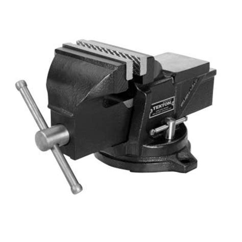 home depot bench vise tekton 4 in swivel bench vise 54004 the home depot